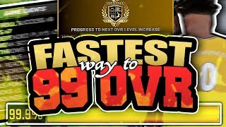 Download 60 to 99 in 2 DAYS!!! NBA 2K18 FASTEST WAY TO GET 99 OVERALL!! HOW TO REP UP FAST!! (ROAD TO 99) Video
