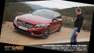 Download Mercedes C 450 AMG 4MATIC Sport Estate / Testdrive in Portugal (German) Video