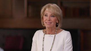 Download Betsy DeVos pushes back against criticism over ″60 Minutes″ interview Video