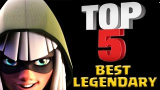 Download TOP 5 Best Legendary Cards in Clash Royale After Update 2017 Video