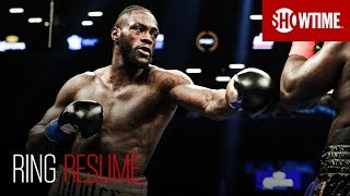 Download RING RESUME: Deontay Wilder   SHOWTIME Boxing Video