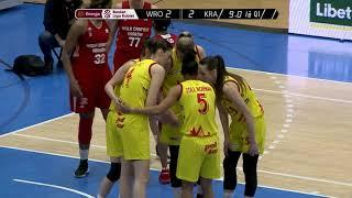 Download Energa Basket Liga Kobiet - Ślęza Wrocław vs Wisła CanPack Kraków Video