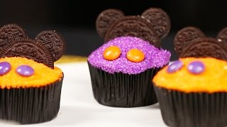 Download Mickey Mouse Halloween Cupcake Decorating | Disney Family Video