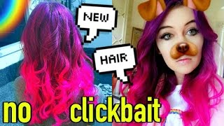 Download NEW HAIR! (CUT OFF and colored): How to Color Hair! Video