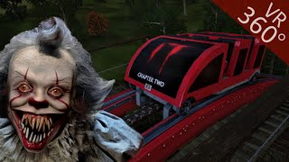 Download 360° Roller coaster IT Chapter 2 Movie themed VR POV Ride 360 도 롤러코스터 탐험 ジェットコースター Video