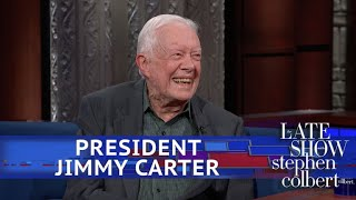 Download President Jimmy Carter Is Still Praying For Donald Trump Video