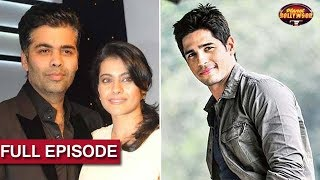 Download Karan Johar To Reunite With Kajol Again?   Sidharth Rejected 'Race 3' Due To Daisy Shah? Video