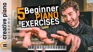 Download The Top 5 Piano Exercises For Beginners Video