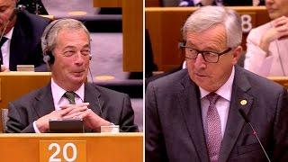 Download Juncker vs. Farage: The final battle Video