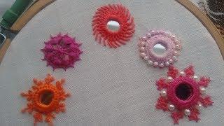 Download 187-Mirror work embroidery शीशा लगाने का सबसे आसान तरीका (Hindi/Urdu) Video