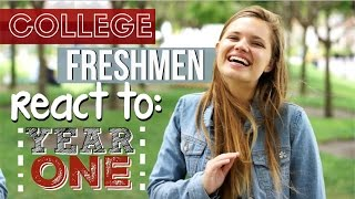 Download Freshmen React to Their First Year of College Video