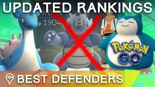 Download *UPDATED* BEST DEFENDERS IN POKÉMON GO - TOP TIER POKÉMON FOR GYM DEFENSE Video