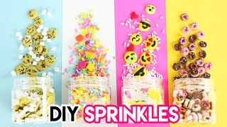 Download How to Make DIY Sprinkles (Emojis, Donuts, Funfetti, and Cookies)! Video