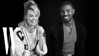 Download Margot Robbie and Michael B. Jordan on Being Each Other's Movie Crushes | W Magazine Video