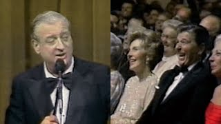Download Rodney Dangerfield Has President Reagan Laughing Up a Storm (1981) Video