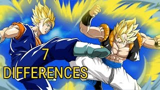 Download 7 Differences Between Gogeta And Vegito Video