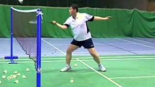 Download Badminton-Forehand Spin Net Shot Video