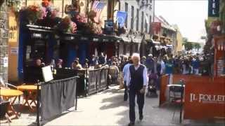 Download Galway, Ireland, one of the most chilled out spots in Western Europe Video