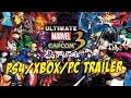Download Ultimate Marvel vs Capcom 3 for PS4/Xbox/PC Trailer Video