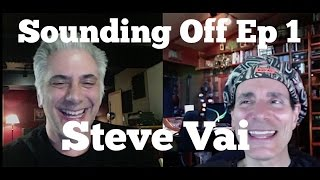 Download STEVE VAI Interview on Sounding Off with Rick Beato Video