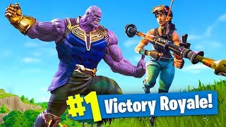 Download NEW THANOS AVENGERS Infinity Gauntlet MODE! - Fortnite Battle Royale LIVE Video