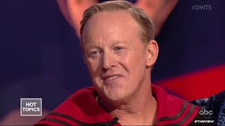 """Download """"DWTS"""" Judges Irritated by Sean Spicer 