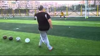 Download احمد عبد الفتاح حارس المصرى اثناء التمرين مع الكابتن اشرف خضير في مدرسة الحراس الخاصة بة Video