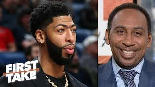 Download The Pelicans should offer Anthony Davis a max deal, then build around Zion - Stephen A. | First Take Video
