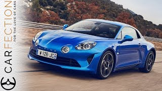 Download NEW Alpine A110: Better Than A Porsche Cayman? - Carfection Video