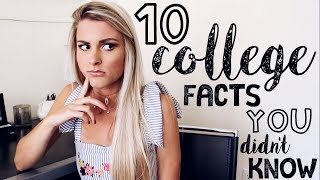 Download 10 Things People DON'T Tell You About College | Tasha Farsaci Video