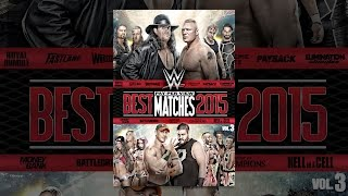Download WWE: Best Pay-Per-View Matches of 2015 Volume 3 Video