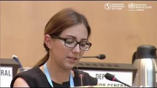 Download La ministra de Salud de Ecuador, Verónica Espinosa, en la 70ª Asamblea Mundial de la Salud Video