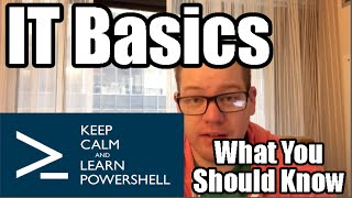 Download Basic Skills for Computer Jobs - What you should know about IT Basics Video