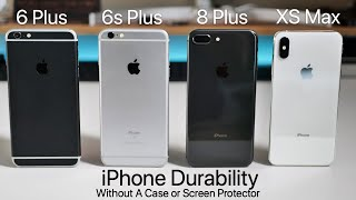 Download iPhones - A Year Without A Case or Screen Protector Durability Video