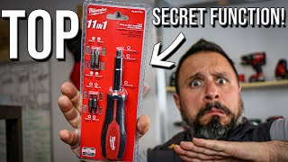 Download THIS MILWAUKEE TOOLS 11 IN 1 SCREWDRIVER HAS A SECRET FUNCTION! Video