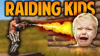 Download Rust - RAIDING KIDS - (Rust Raids & PvP) Video