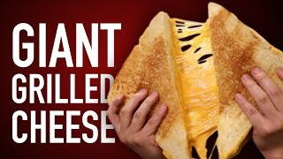 Download DIY GIANT GRILLED CHEESE Video