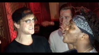 Download FACE TO FACE WITH LOGAN PAUL (BEFORE PRESS CONFERENCE) Video