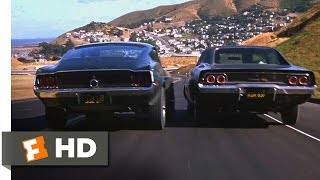 Download Bullitt (1968) - Ford Mustang vs. Dodge Charger Scene (5/10) | Movieclips Video