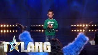 Download Femårige Osman rappar i Talang 2018 Video