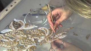 Download Люневильская вышивка от Виктории Бойко (вышивка люневильским крючком в авторской интерпретации ) Video