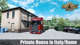 Download ✅ [ETS2 1.31] Private House in Italy/Rome - Park and Sleep Video