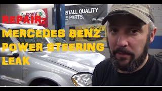 Download Mercedes Benz Power Steering Leak Video