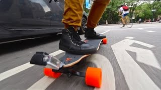 Download Overpowered Motorized Skateboard Video