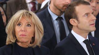 Download Brigitte Macron - Ärger im Paradies? Als Emmanuel ihre Hand nehmen will, tut sie das … Video