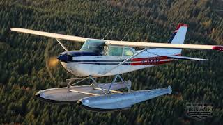 Download Air to Air with Cessna 172 on floats Video
