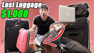 Download I Bought $1000 Lost Luggage at an Auction and Found This… (Buying Lost Luggage Mystery Auction) Video