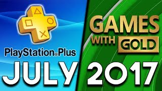 Download PlayStation Plus VS Xbox Games With Gold (July 2017) Video