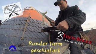 Download Runder Turm in Altdeutscher Deckung - Schiefer von Theis Böger Video