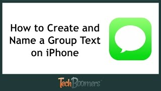 Download How to Create and Name a Group Text on iPhone Video
